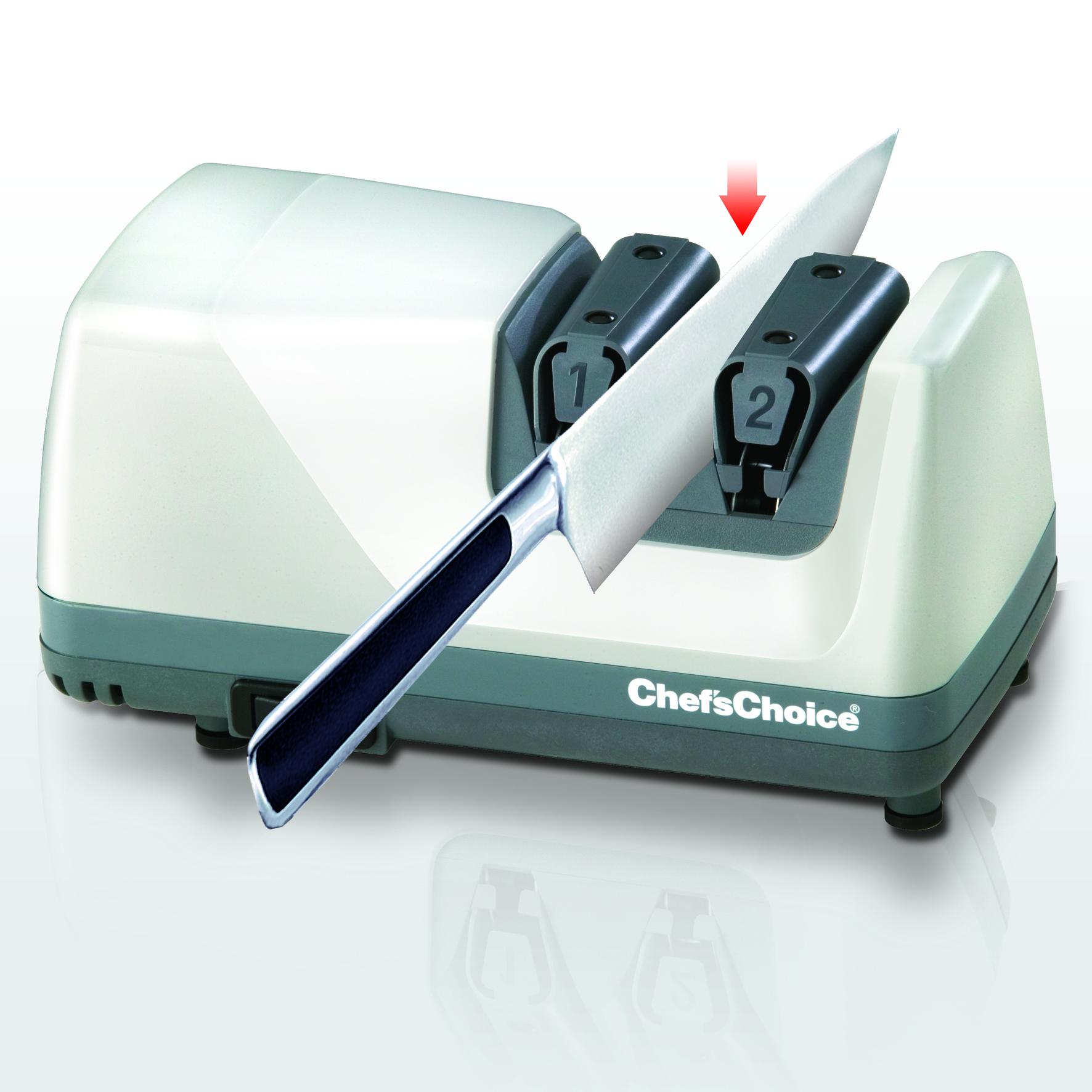 ChefsChoice 312 motoros késélező második, polírozó fázis
