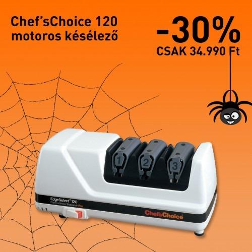 Halloween ajánlat: Chef'sChoice 120 késélező