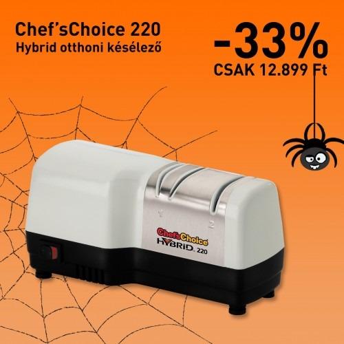 Halloween ajánlat: Chef'sChoice 220 késélező